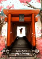Kitsune Shrine by We1rD12