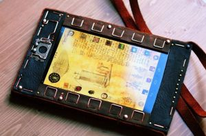 Steampunk tablet V2 - Nexus 7 by yukosteel