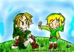 LoZ: I brought you a flower by tooncellos219