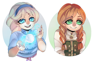 Frozen Babies by TerraTerrific