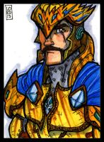 Sketch Card-A-Day 2013: 032 by lordmesa