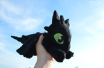 Floppy Toothless plush by PinkuArt