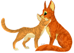 Firestar and Sandstorm [new] by KZcat