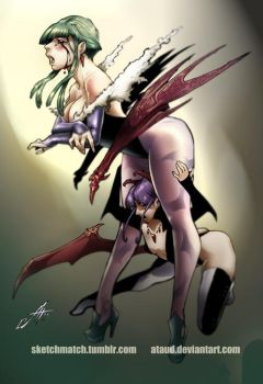 Darkstalkers Morrigan by ataud