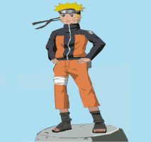 Naruto by kingfret