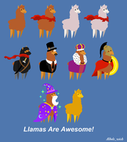 Llamas Are Awesome! by Albels-wish