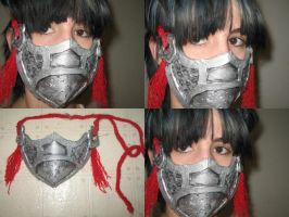 Cosplay: Sango's Mask by spikers542
