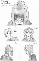 Why Did They All Have To....? by lovetadraw