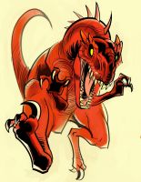 Red-raptor by ZombPunk
