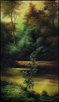 My oil painting work-2 by heakmeat