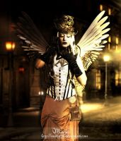 Angel steampunk by Marjie79