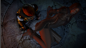Dragon Age: Inquisition. Leliana arrested by benja100