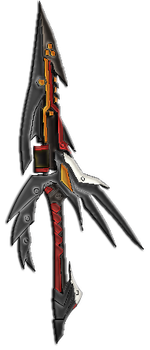 Elsword Raven VC sword color by kingMYSELF