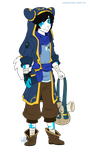 Contest Entry: Travel Outfit for Omei by WishingStarInAJar