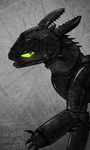 toothless is animatronic by Rayphill