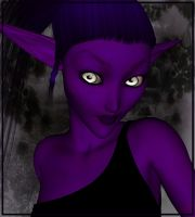 Purplefairy for Lady by Tielle
