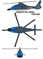 Eurocopter AS565 Panther by bagera3005
