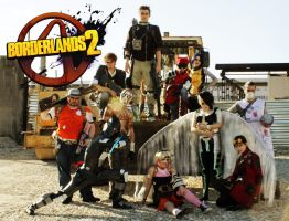 Borderlands 2 by dragonanjo
