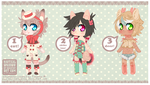 bow n lace adopts 12 - CLOSED by NauticalSparrow