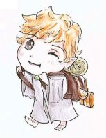 Lord of the rings chibi Sam by Snoffi2012