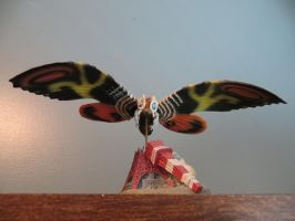 Lovely Mothra by Legrandzilla