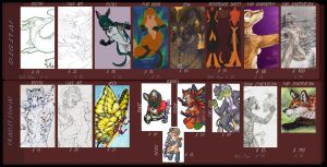 Commission Price Guide by FireMaster13