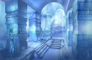 Ice castle by APetruk