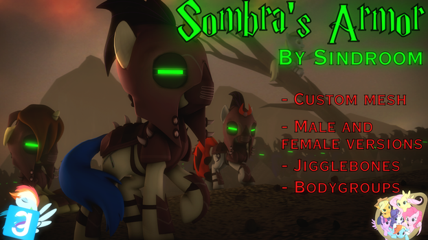 [SFM/Gmod] Sombra's Armor by Sindroom