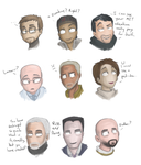 Half Life 2 Characters by Super-Cute