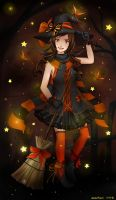 Butterfly Witch by kariavalon