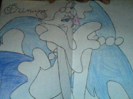 This is Primarina by Basherkid
