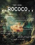 poetry project 2014 - rococo by crashmypartyhard