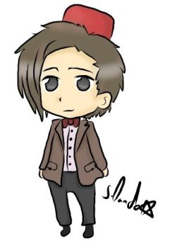 Dr who chibi by DandoArt