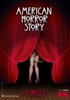 American Horror Story - Circus (teaser poster 2) by Ludingirra