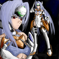 Xenosaga III: KOS-MOS by PeterPrime