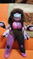 Fully posable Sugilite by feltgood
