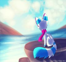 .: On The Rocks :. by Frosty-Kitteh