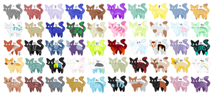 Cat adopts! 2 left by Cute-elegant-ADOPTS
