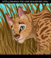 Serval by Mganga-The-Lion