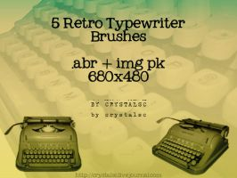 Typewriter Brushes by crystalsc