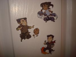 Legend of Korra Stickers by wolfxgirl23