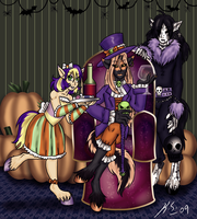 Halloween MLP Pony Boys OLD by The-Clockwork-Crow