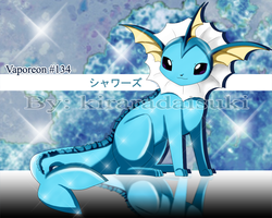 FA Graceful Vaporeon by kiraradaisuki
