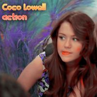 Coco Lowell action by DemCatchExperience