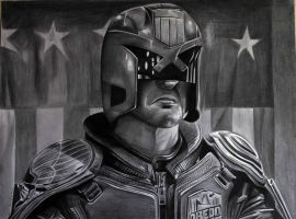 Karl Urban Judge Dredd by donchild