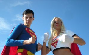 Superman: Serious face time by Ravenspiritmage