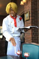 The chief cook sanji!! by YURAN-snow