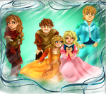 Request: Snow Queen Characters by Blossom525