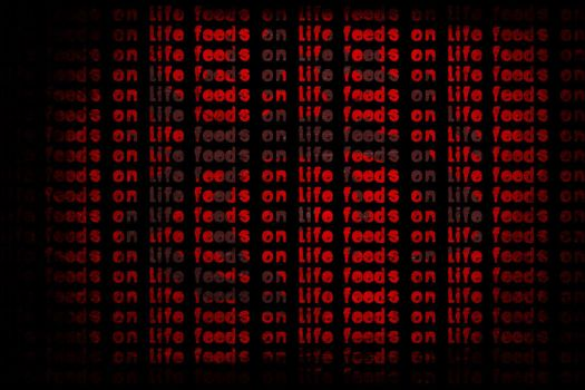 Life feeds on Life wallpaper by strangers-in-suits