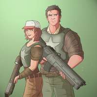 Soldiers by Slatena